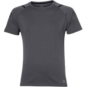 asics Icon Hardloopshirt korte mouwen Heren grijs